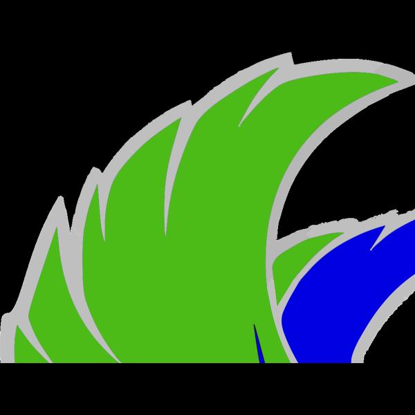 Green Falcon 2 PNG Clip art