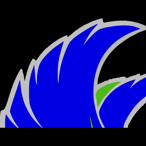 Blue Falcon 1 PNG Clip art