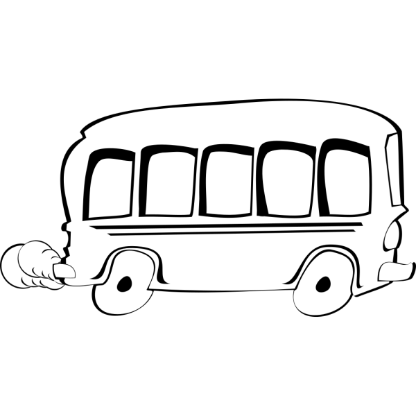 Bus Cartoon PNG Clip art