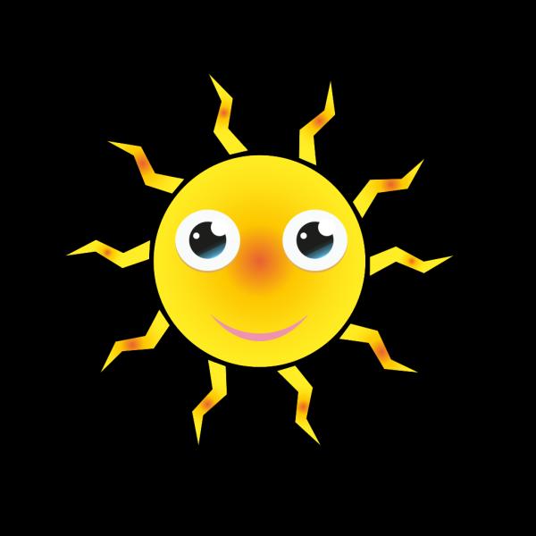 Sun Cartoon PNG Clip art