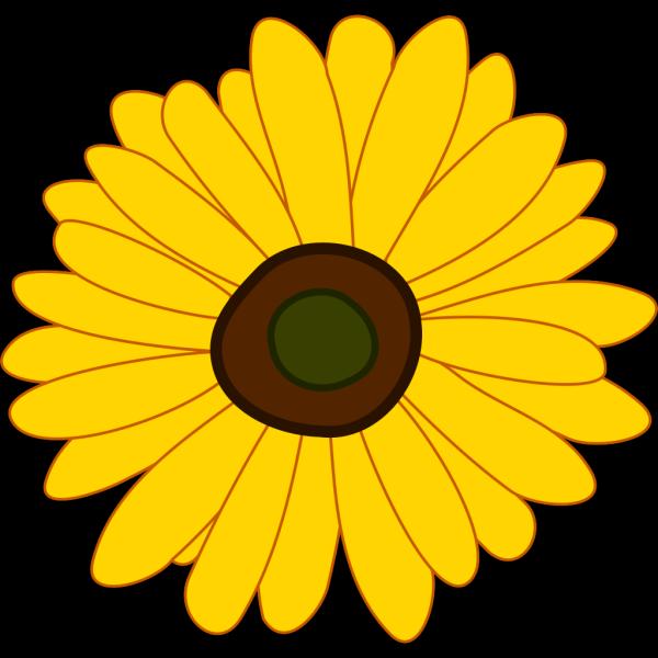 Cartoon Sunflower PNG Clip art