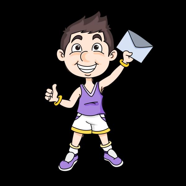 Mail Boy PNG Clip art