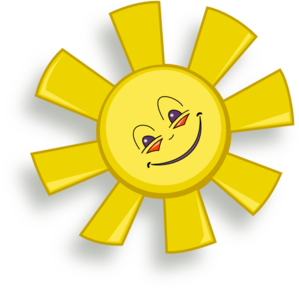 Happy Sun PNG Clip art