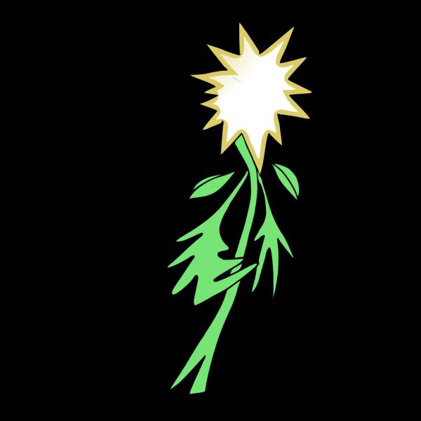 Anthropomorphic Flower PNG Clip art