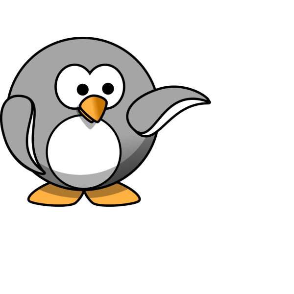 Penguin P PNG Clip art