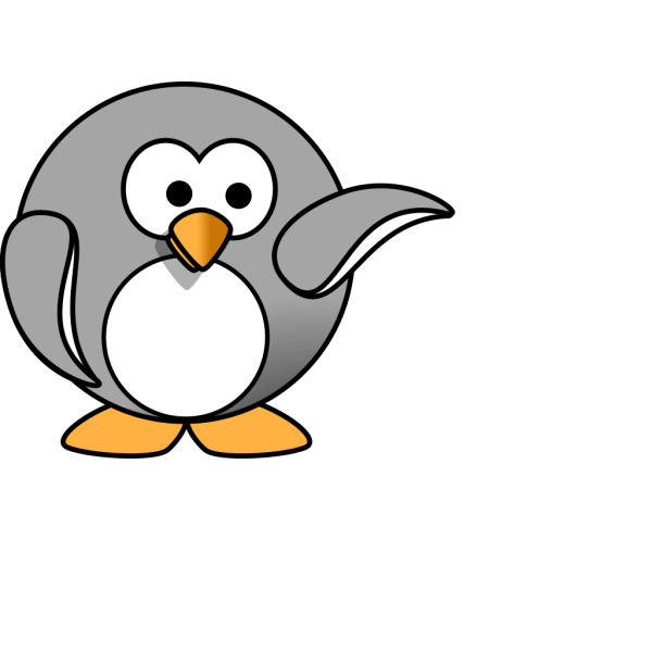 Penguin Up PNG Clip art