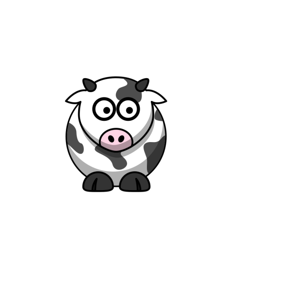 Cow Right PNG Clip art