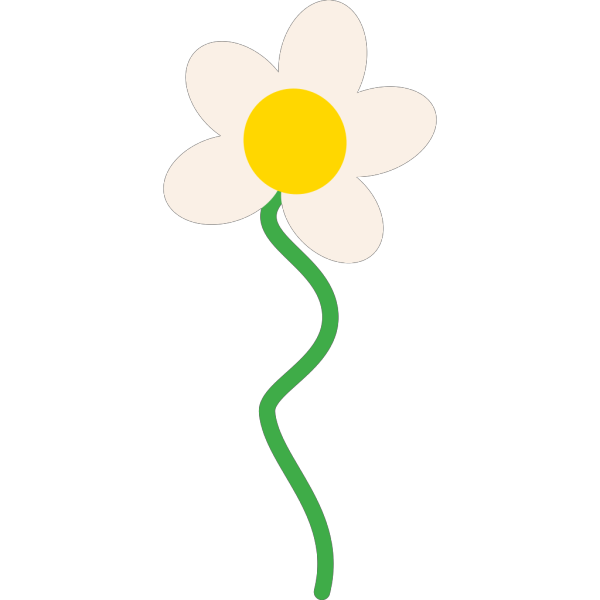 Growing Daisy PNG Clip art
