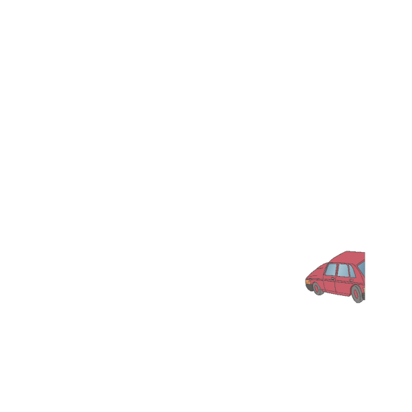 Red Cartoon Tulip PNG Clip art