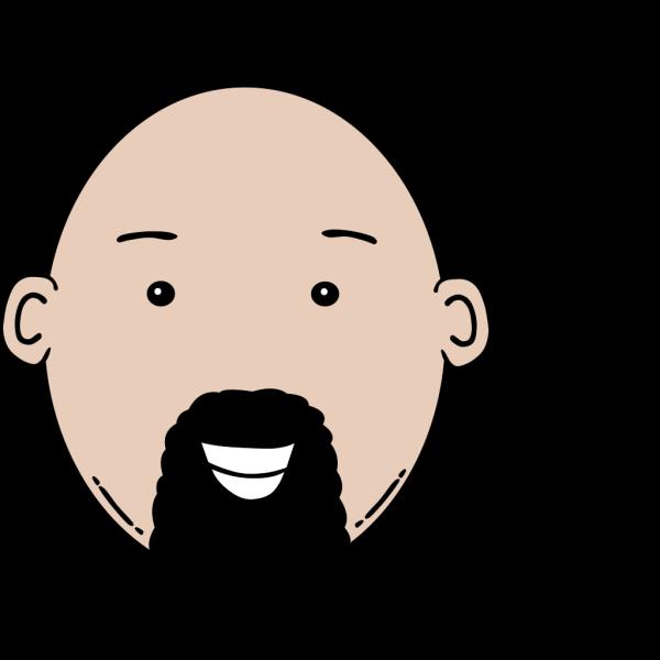Man Face Cartoon PNG Clip art