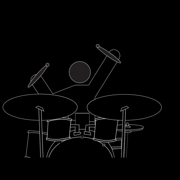 Boy Drummer PNG Clip art