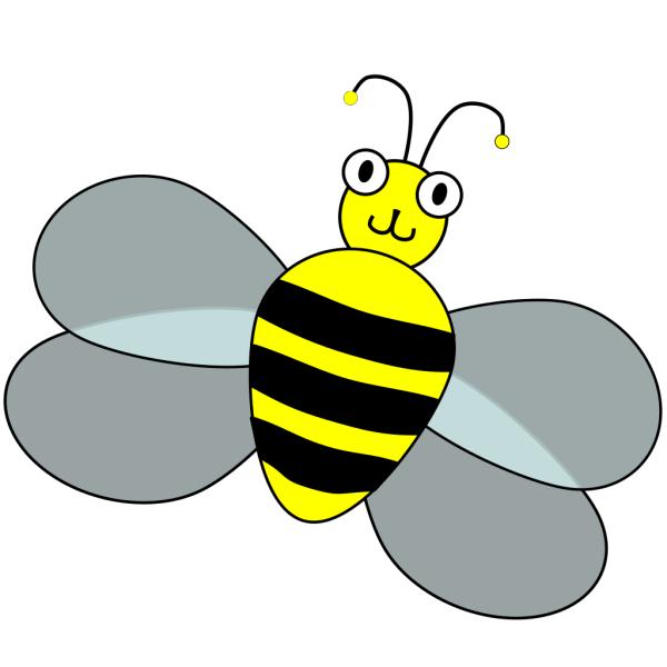 Spelling Bee Contest Mascot PNG Clip art