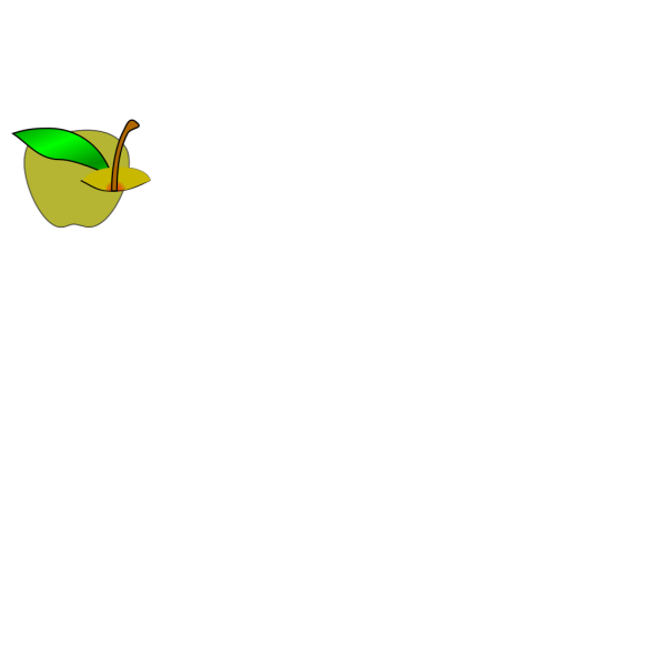 Yellow Apple PNG Clip art