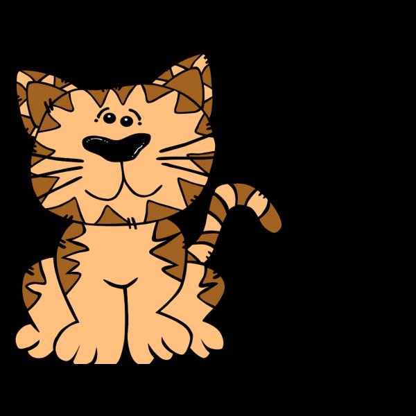 Cartoon Cat 2 Clip Art PNG Clip art