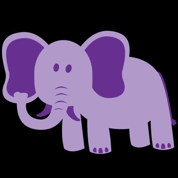 Elephant Alone PNG Clip art