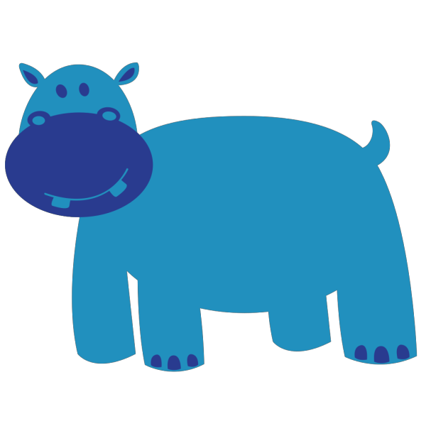 Hipopotamo PNG Clip art