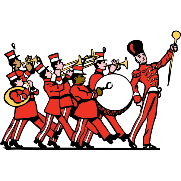 Marching Band PNG Clip art