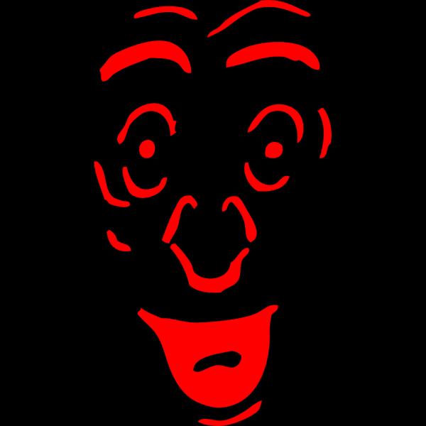A Bit Surprised Face PNG Clip art