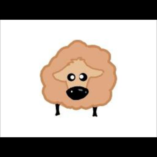 Sheep Cartoon Blue 2e9df2ff PNG Clip art