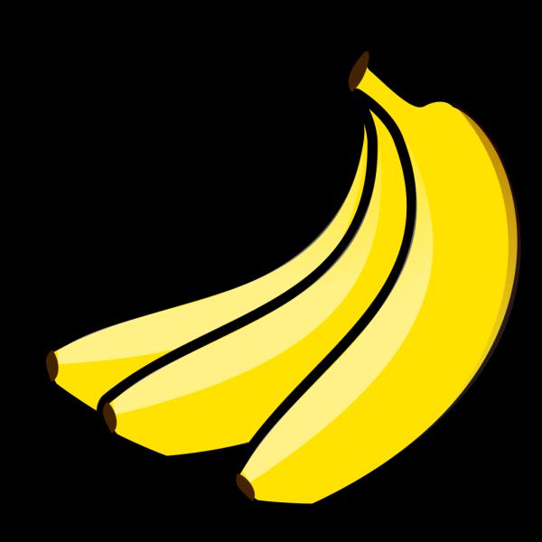 Yellow Bananas PNG Clip art