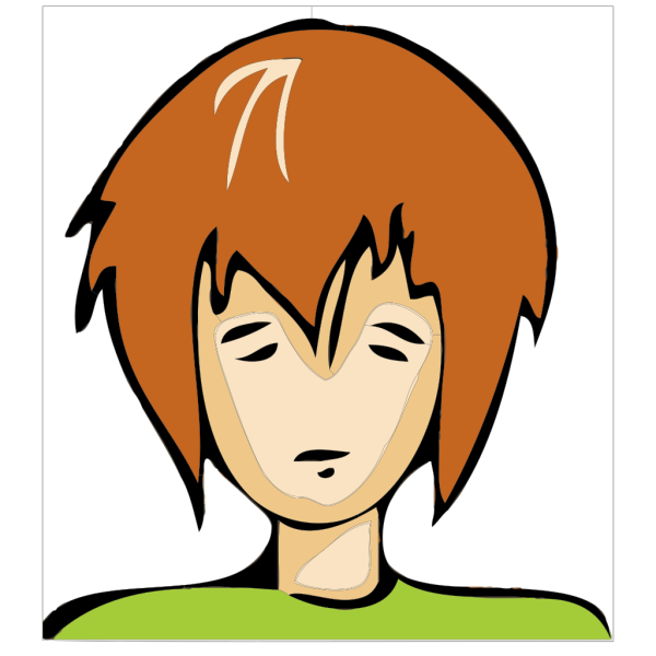 Sad Person PNG Clip art