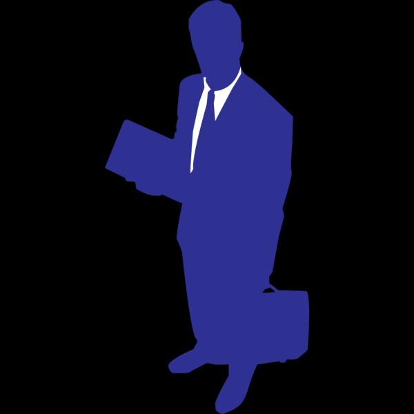Business Man Cartoon 2 PNG Clip art