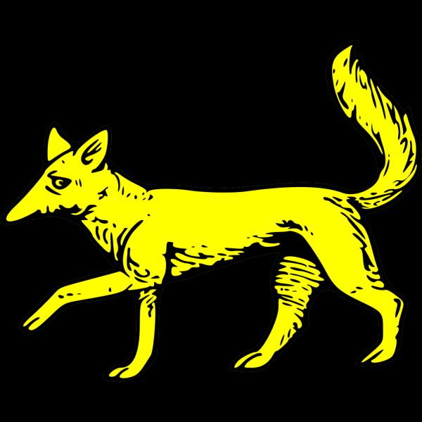Fox Passant PNG Clip art