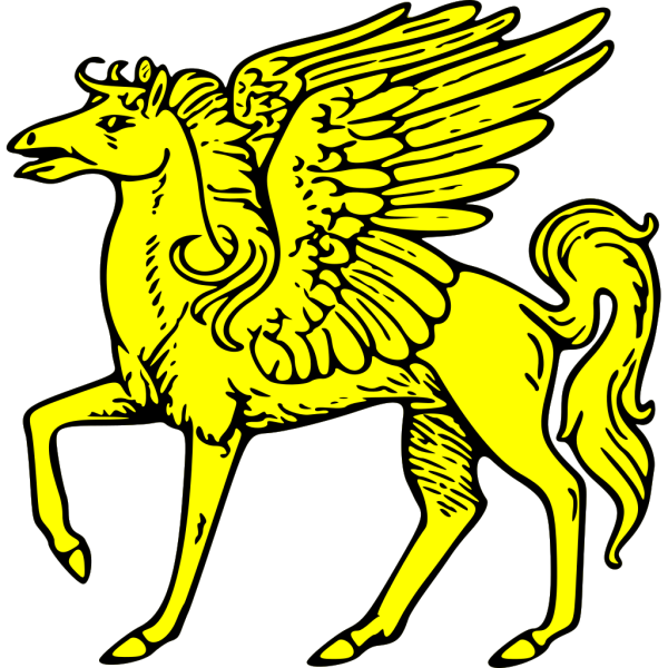 Winged Horse PNG Clip art
