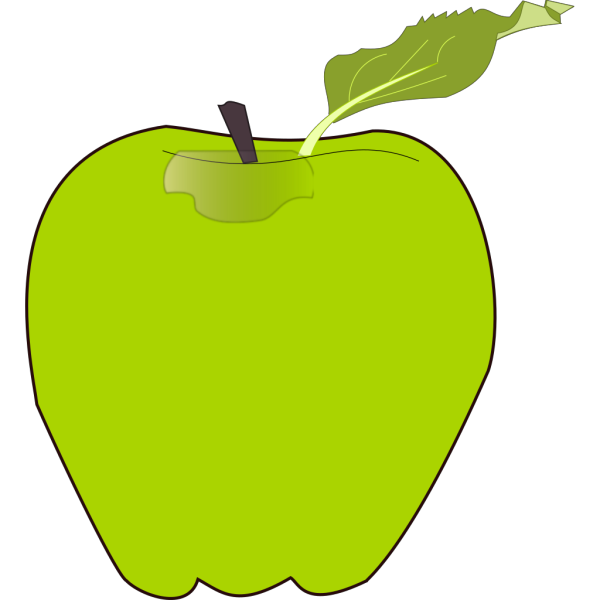 Apple Striped PNG Clip art