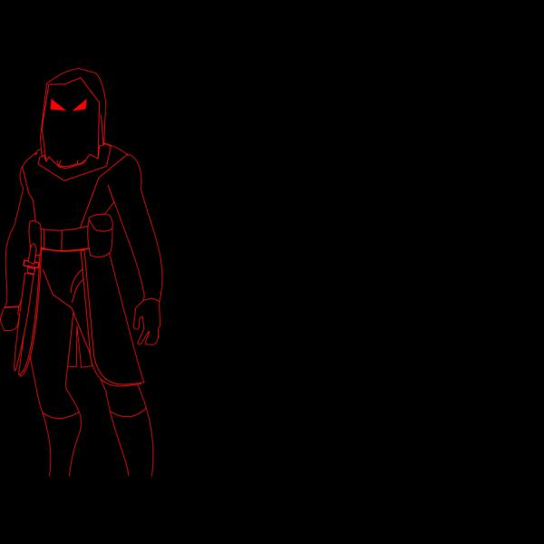 Shadow Man PNG Clip art