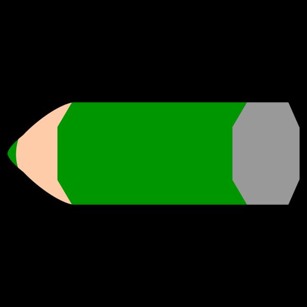 Green Pencil PNG Clip art