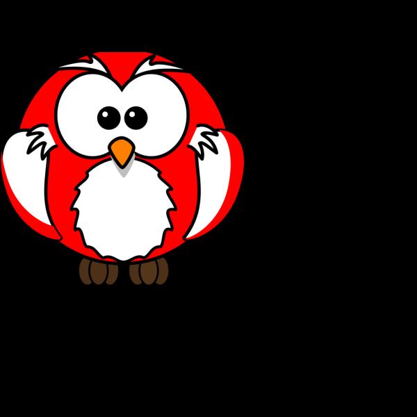Red Owl Cartoon PNG Clip art