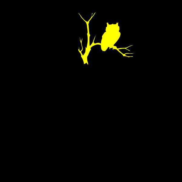 Yellow Owl Cartoon PNG Clip art