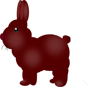 Chocolate Bunny PNG images