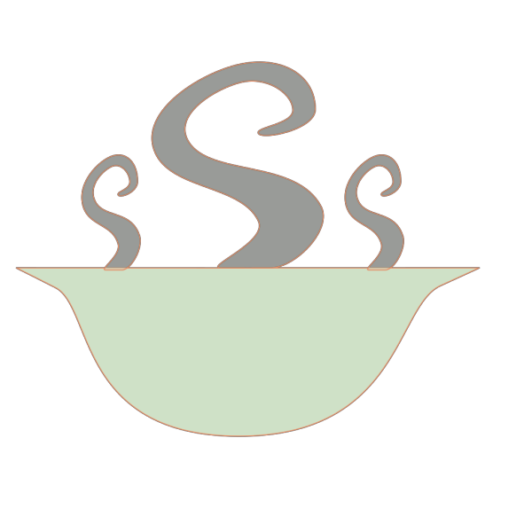 Bowl Of Steaming Soup PNG Clip art
