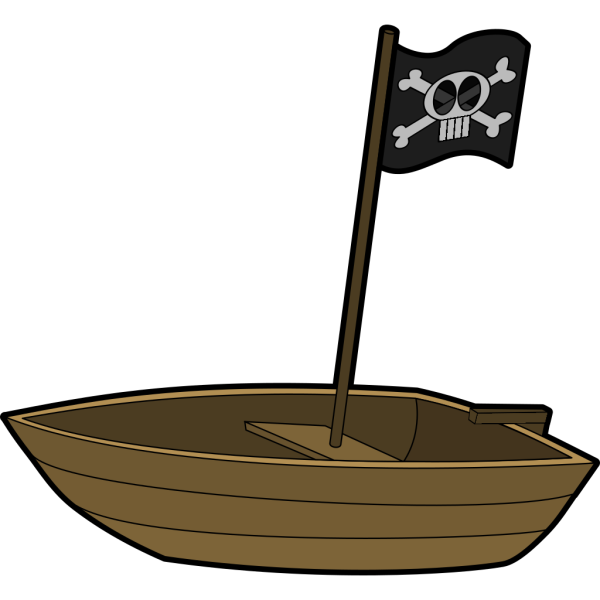 Pirats Boat PNG images