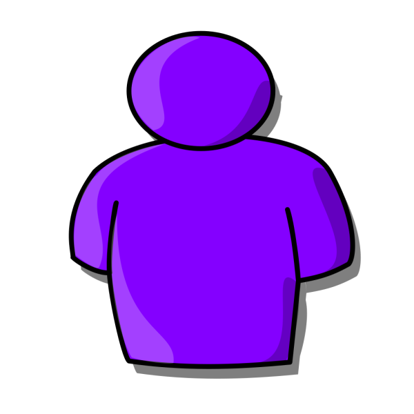 Purple Avatar PNG clipart