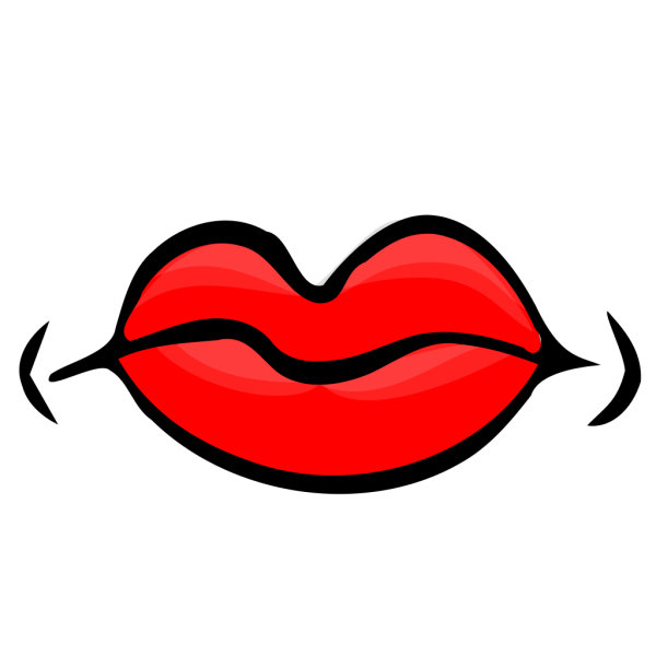 Red Lips PNG Clip art