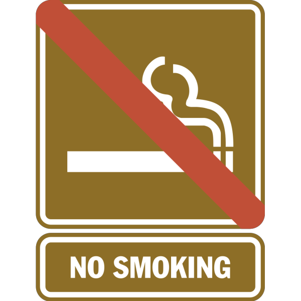 No Smoking Sign PNG image