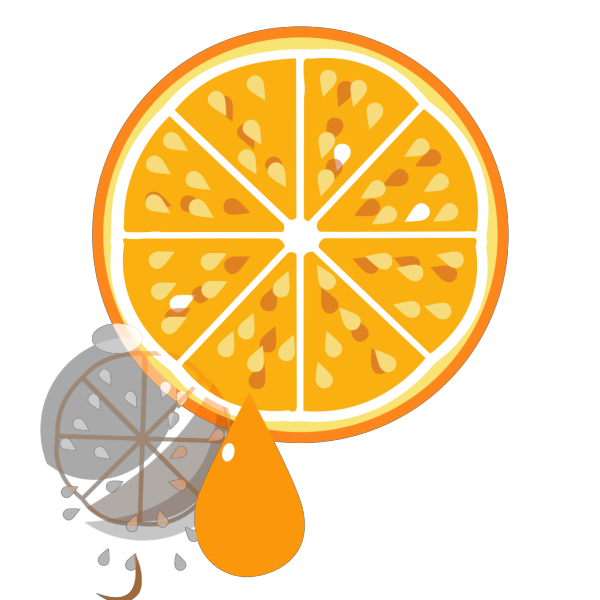 Orange Juice Box PNG Clip art