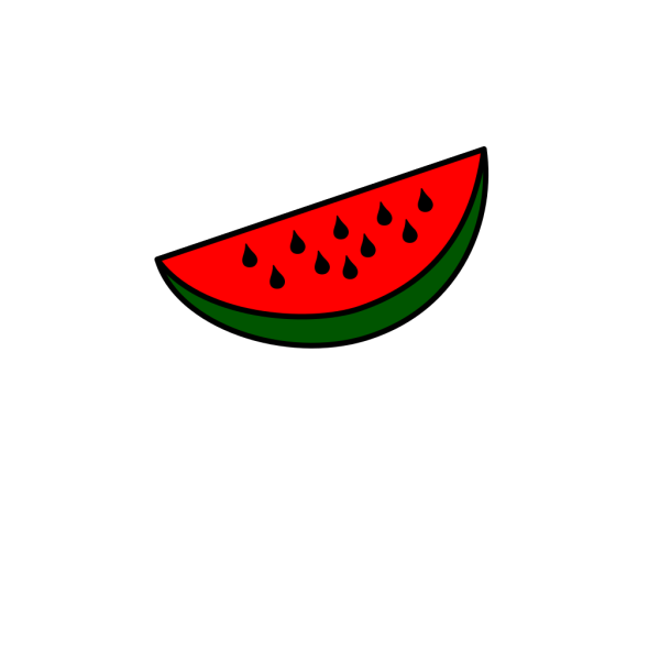 Watermelon Wedge PNG Clip art