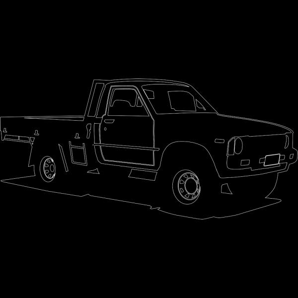 Toyota Hilux PNG Clip art