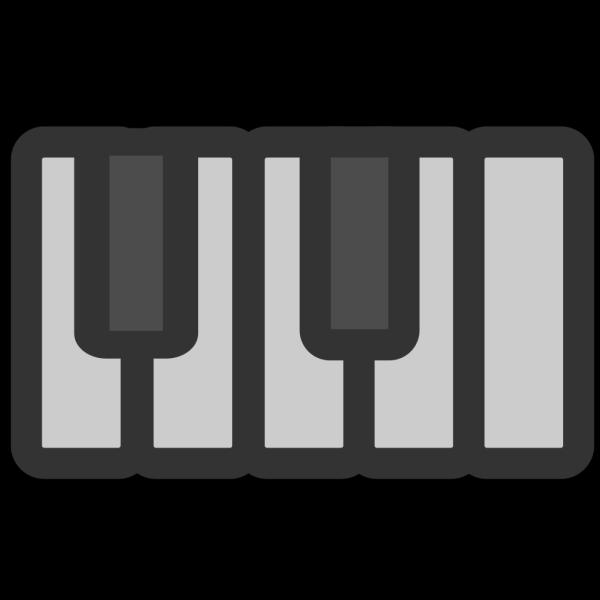 Piano Keys PNG Clip art