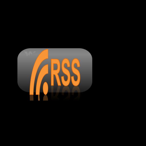 Rss Button PNG Clip art