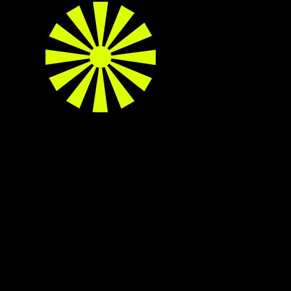 Stylized Sun PNG Clip art