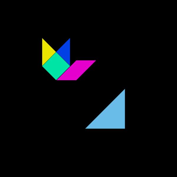 Tangram Game PNG images