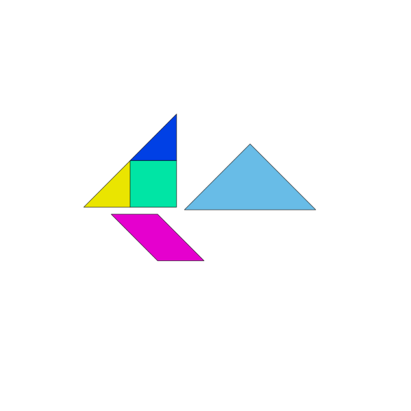 Tangram Asian Game PNG images