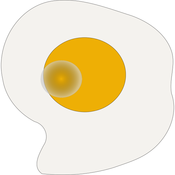 Sunny Side Up Eggs PNG Clip art