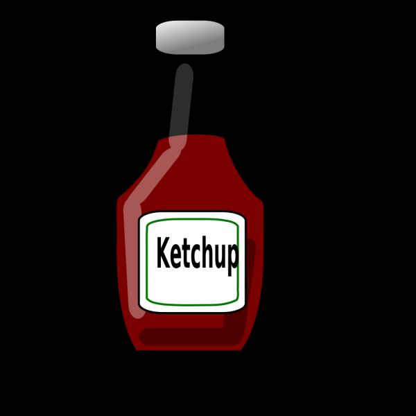 Ketchup Bottle PNG Clip art