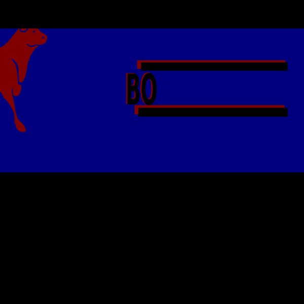 Symmetrical Banner Art PNG Clip art